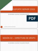 SESION I - REDES II – SOPORTE SERVER 2003