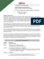 InfoDev Workshop Draft Agenda October 2-3, 2006