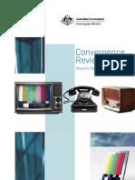 Convergence Review Interim Report