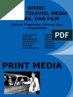 bisnis radio televisi media cetak dan film
