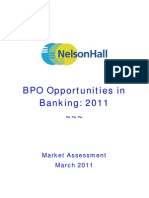 BPO Opportunities Banking 2011 March 2011 TOC