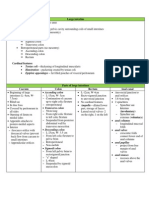 Summary Anatomy of Large Intestine