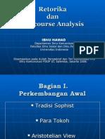 retorika dan discourse analysis