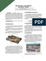 3.2 Depuración y tratamiento de aguas y suelo