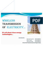 30954838 Wireless Transmission of Electricity