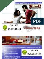 Civitech best apartments @ 9266155455