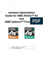 AMD Software Optimization