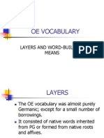 Oe Vocabulary (1)
