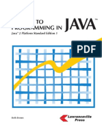 A Guide to Programming in Java