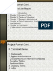 Project Format 2011