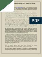 Key Performance Indicators for the PMO Metrics for Success