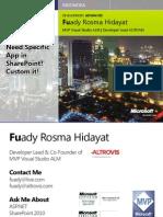 Fuady Rosma Hidayat - Need Specific App in Share Point, Custom It!