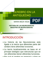 Cerebro en La Antiguedad