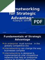 internetworking for strategic advantage