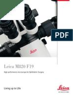 Leica M820 F19 Bro En