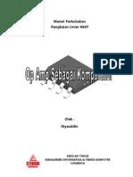 Materi-komparator