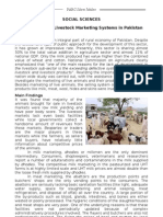 Action Plan for Livestock Marketing Systems in Pakistan-SS