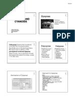 CLME 301 Dyspnea and Cyanosis2011 Yupada
