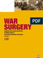 War Surgery - Working With Limited Resources