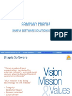 Shapia Software - Company Profile