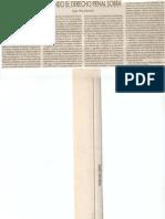 Cuando el Derecho Penal Sobra La Razon. Pág. 38, Sección Tribuna Libre] 10 Sep 2002