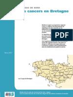 Tableau de Bord-Les Cancers en Bretagne