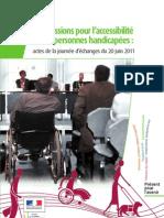 Actes Commission Accessibilite Handicap