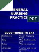 General Nursing Practice