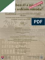 """""""Nyelvében él a nemzet"""" - A vizuális kisebbségi nyelvhasználat története Dél-Szlovákiában (1918−2011)"""