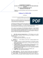 AGP Ordinances 2001, Audit & Accounts 1973