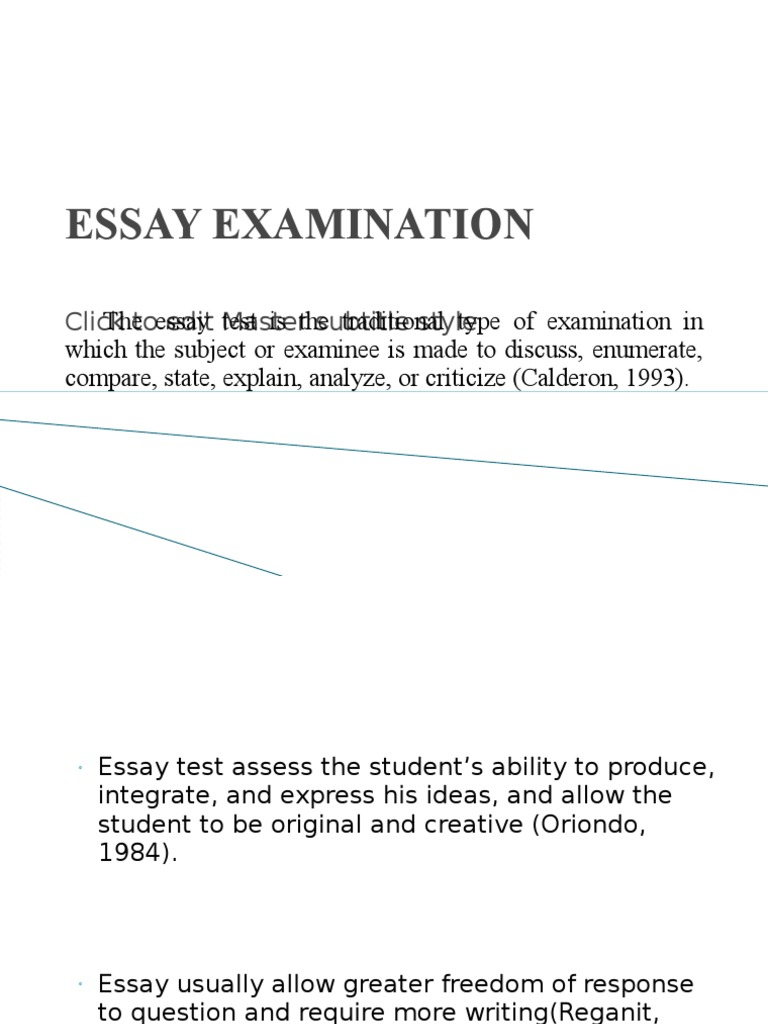 construct essay exam Tips on writing the essay-type examination of course, if one question is worth more points than the others you allow more time to write it 2.