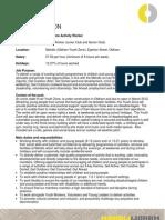 Mahdlo Part Time Activity Worker Role Profile