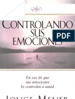 Joyce Meyer - Control an Do Sus Emociones