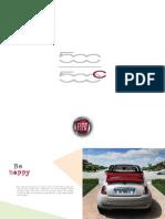 Fiat 500 500C Brochure