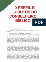 O PERFIL E ATRIBUTOS DO CONSELHEIRO BÍBLICO