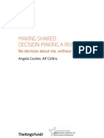 Making Shared Decision Making a Reality
