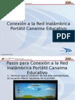 Conexion a La Red Inalambrica Portatil Canaima Educativo