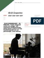 d[x]i Magazine - Magazine dedicado a la cultura del diseño