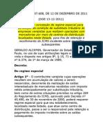 DECRETO ST CENTRO DE DISTRIBUIÇÃO