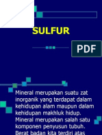 Sulfur Ppt