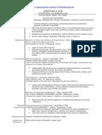 sample electrical engineering resume