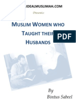 Muslim Women Who Taught Their Husbands