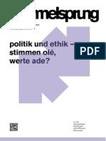 Hammelsprung Ausgabe 5 Politik und Ethik