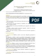2011 PROPUESTA DE ACEPTACIÓN DE MIEMBROS DE OTRAS ASOCIACIONES