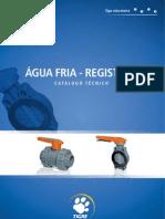 Catalogo Tigre - Água Fria  - Registros
