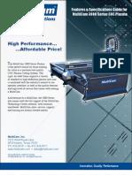 MultiCam 3000-Series CNC Plasma