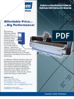 MultiCam 3000-Series CNC Waterjet