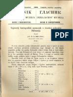 Glasnik Zemaljskog Muzeja 1898./god.10 knj.3