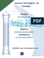 Port a Folio de Evidencias EST DAT