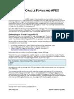 Artikel Roel Hartman - Integrating Oracle Forms and Apex